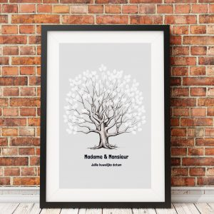 Rooted on Grey Frame